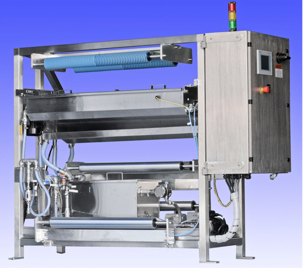 Rotor spray coating technology in the paper production industry